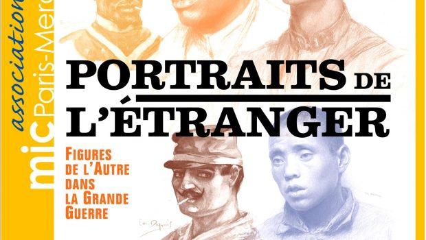 Affiche A3 Portraits de l'étranger