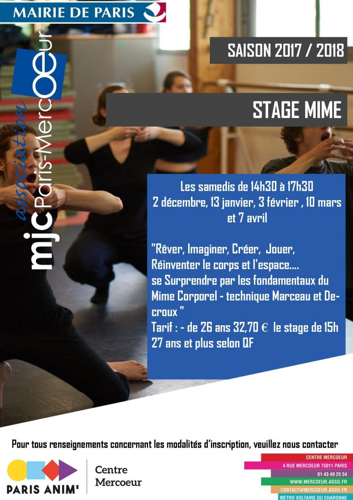 Stage Mime A
