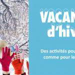 Stages vacances d'hiver, du lundi 10 au vendredi 21 février