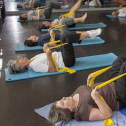 Gym d'entretien, dynamique, pilates, stretching …
